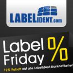 Sicher dir jetzt 12% Preisnachlass auf Etiketten bei Labelident.com