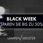 Black Week – Spare bis zu 50% bei Lampenmeister.de