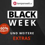 Black Week bei Lampenwelt.at mit bis zu 60% Rabatt plus weitere Extras
