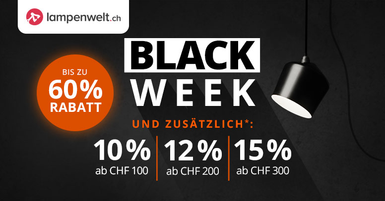 lampenwelt.ch Black Friday 2019