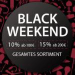 Black Weekend bei Lampenwelt.de, spare bis zu 15% beim Leuchtenkauf!