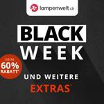 Black Week bei Lampenwelt.ch mit bis zu 60% Rabatt plus weitere Extras