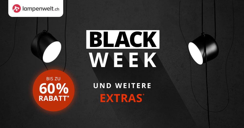 Lampenwelt.ch Black Friday 2020