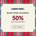 Spare mit den Black Week Angeboten von Lands' End bis zu 50% auf die aktuelle Kollektion