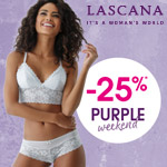 Purple Weekend bei LASCANA – 25% Rabatt auf ALLES