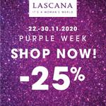 Der beste Deal des Jahres – die Purple Week von LASCANA mit 25% Rabatt auf Alles!