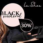 Black Weekend Deals bei LaShoe mit bis zu 30% Preisvorteil