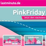 Pink Friday ist here! 50% Rabatt auf Reisegutscheine bei lastminute.de