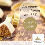 Sweet Friday bei der Confiserie Lauenstein – Bis zu 20% Rabatt qualitativ geschmackvolle Produkte