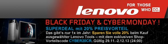 Lenovo Black Friday 2013