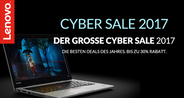 Lenovo Cyber Sale 2017