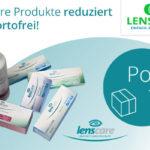 Bestelle jetzt Produkte von Lenscare reduziert und portofrei zu dir nach Hause
