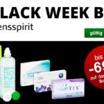 Bis zu 69% Rabatt bei der großen Lensspirit Black-Week.