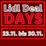 Sicher dir ab sofort täglich neue Angebote bei den Lidl Deal Days