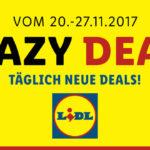 Crazy Deals bei Lidl – Sicher dir eine Woche lang täglich neue Angebote!