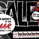 Lieferello bietet euch gleich 4 unschlagbare Angebote zum Black Friday