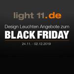 Design Leuchten Angebote zum Black Friday bei light11.de!