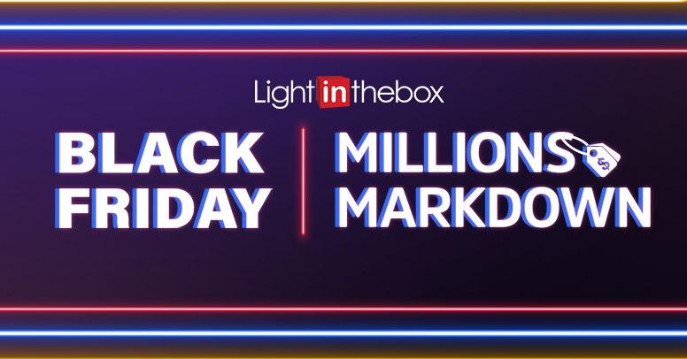 lightinthebox Black Friday 2020