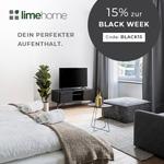 15% Rabatt auf jede Buchung bei Limehome zur Black Week!