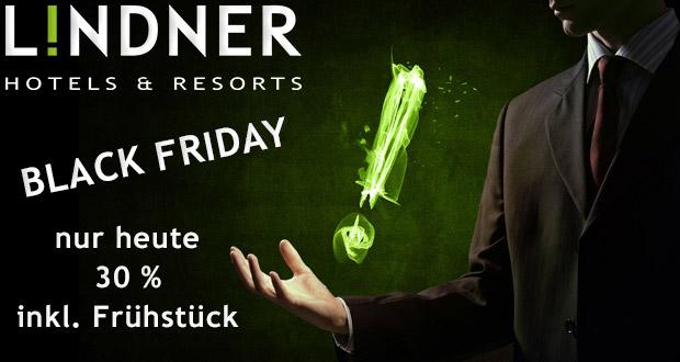 Lindner Hotels & Resorts Black Friday 2017