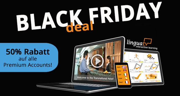 linguaTV Black Friday 2017