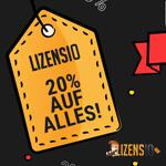 Nutze den Black Friday und sicher dir 20% Rabatt auf das gesamte Softwaresortiment von Lizensio