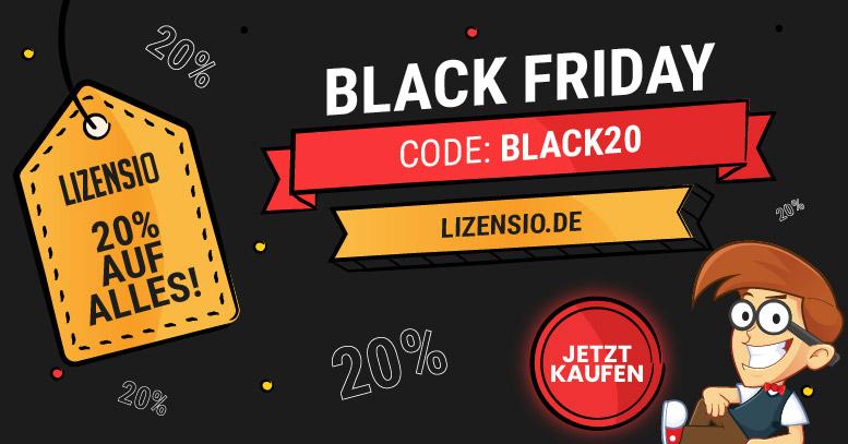 Lizensio Black Friday 2020