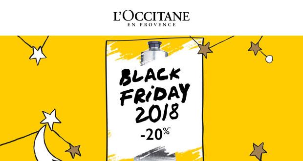 L'Occitane Black Friday 2018