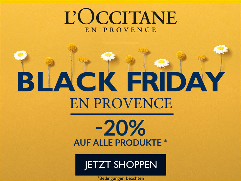 L'Occitane Black Friday 2019