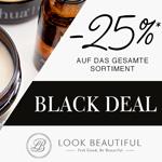 Nur heute: 25% Rabatt auf das gesamte Beauty Sortiment von Look Beautiful