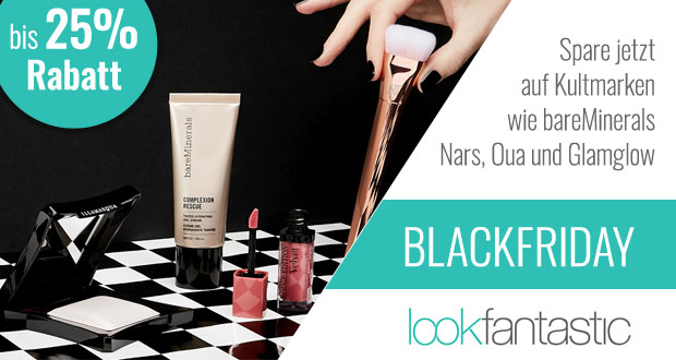 lookfantastic Black Friday 2017