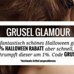 Grusel Glamour bei LookFantastic: bis zu 20% Rabatt zu Halloween