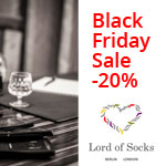 Exclusiver Black Friday Sale bei Lord Of Socks – 20% auf das gesamte Sortiment