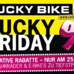 Bis zu 50% Rabatt im Online-Shop von Lucky Bike!