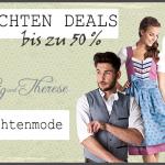 Bis zu 50% Rabatt beim Einkauf im Trachtenshop von Ludwig und Theresa möglich!