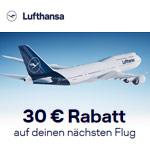 Black Friday bei Lufthansa: Spare jetzt  30 EURO auf dein nächstes Flugticket