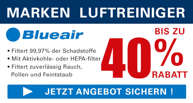 Luftreiniger.com Black Friday 2017