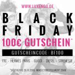 Sicher dir jetzt den 100€ Gutschein von Luxengo und finde dein Lieblingsdesignerstück!