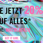 M∙A∙C Loves Black – 20% Rabatt auf alles!