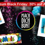 Holi Farben, Bio Konfetti, Playmais und vieles mehr um 30% reduziert bei MachDichBunt!