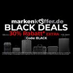 Bis zu 30% Extra-Rabatt mit den Black Deals im Online Shop von Markenkoffer.de