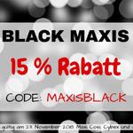 Black Maxis – 15% Rabatt bei Maxis Babywelt