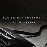 """""""Bag Friday"""" – 15 % Rabatt auf alle schwarzen Produkte von Maxwell Scott Bags"""