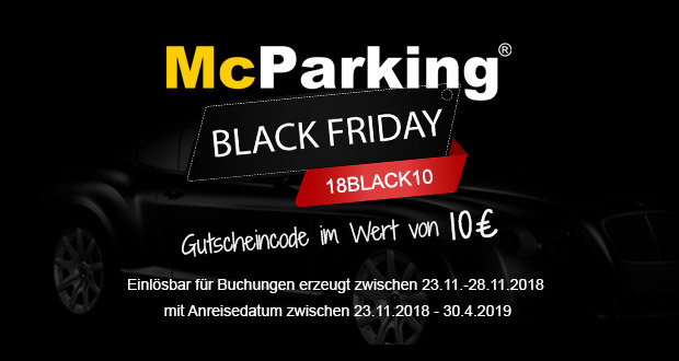 McParking Black Friday 2018