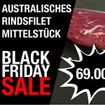 Sicher dir nur heute ein Australisches Rindsfilet Mittelstück für nur 69,- CHF von meat4you