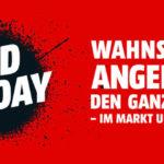 Red Friday bei Media Markt – Wahnsinns Angebote den ganzen Tag!