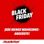 Black Friday bei MediaMarkt – Sicher dir jetzt jede Menge Wahnsinnsangebote