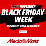 Black Friday Week bei MediaMarkt: Eine Woche unschlagbare Angebote!