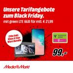 Entdecke jetzt die MediaMarkt Tarifangebote zum Black Friday