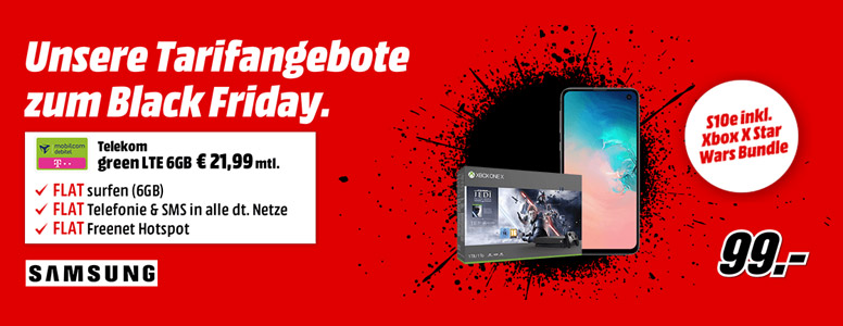 MediaMarkt Tarifwelt Black Friday 2019